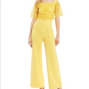 ANTONIO Melani mustard yellow jumpsuit